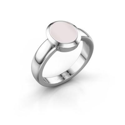 Signet ring Freeda 1 950 platinum red sardonyx 10x8 mm