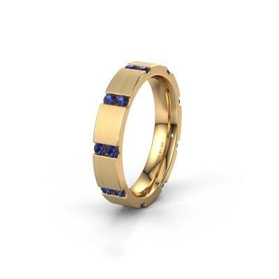 Ehering WH2132L14BM 375 Gold Saphir ±4x2.2 mm
