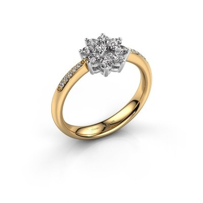 Verlovingsring Camille 2 585 goud lab-grown diamant 0.15 crt