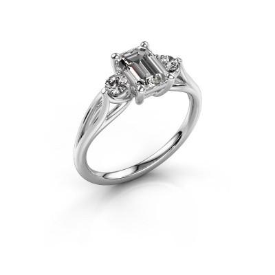 Verlovingsring Amie EME 585 witgoud diamant 1.350 crt