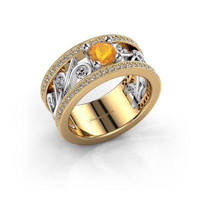Picture of Ring Sanne 585 gold citrin 5 mm