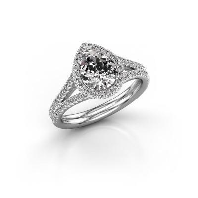 Foto van Verlovingsring Elenore 2 950 platina lab-grown diamant 1.337 crt