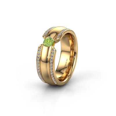 Ehering WHR0575L 585 Gold Peridot ±7x2 mm