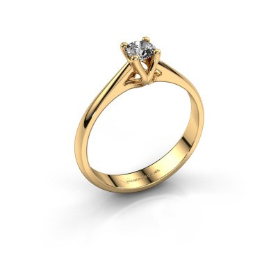 Verlobungsring Janna 1 375 Gold Diamant 0.25 crt
