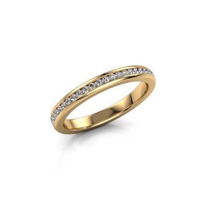 Aanschuifring Lura 1 375 goud lab-grown diamant 0.49 crt