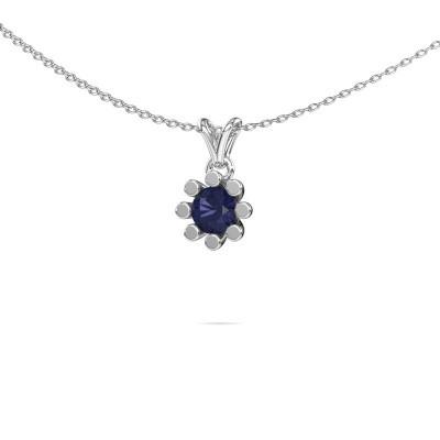 Picture of Pendant Carola 1 950 platinum sapphire 5 mm