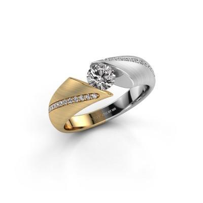 Engagement ring Hojalien 2 585 gold diamond 0.62 crt