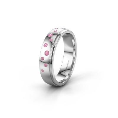 Ehering WH0517L25AP 950 Platin Pink Saphir ±5x1.7 mm