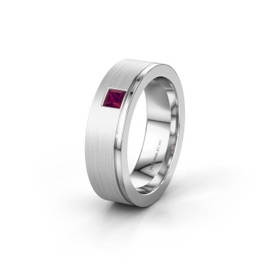 Ehering WH0550L16CMP 925 Silber Rhodolit ±6x2.2 mm