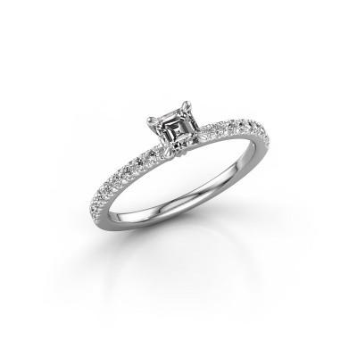 Foto van Verlovingsring Crystal ASS 2 950 platina diamant 0.680 crt
