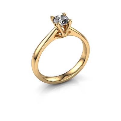 Bague de fiançailles Janna 1 585 or jaune diamant 0.50 crt