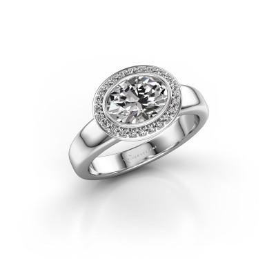 Foto van Ring Salena 925 zilver diamant 1.15 crt