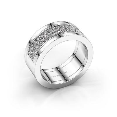 Foto van Ring Marita 5 925 zilver diamant 1.06 crt