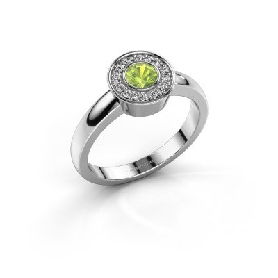 Picture of Ring Adriana 1 925 silver peridot 4 mm