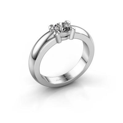 Foto van Verlovingsring Michelle 1 950 platina diamant 0.40 crt