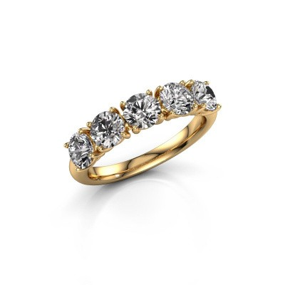 Picture of Ring Vivienne Half 375 gold diamond 2.00 crt