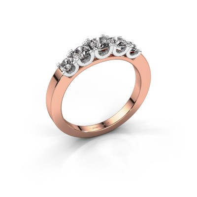 Picture of Engagement ring Selina 2 585 rose gold diamond 0.70 crt