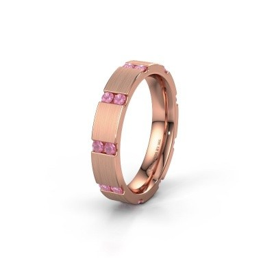 Ehering WH2132L14BM 375 Roségold Pink Saphir ±4x2.2 mm