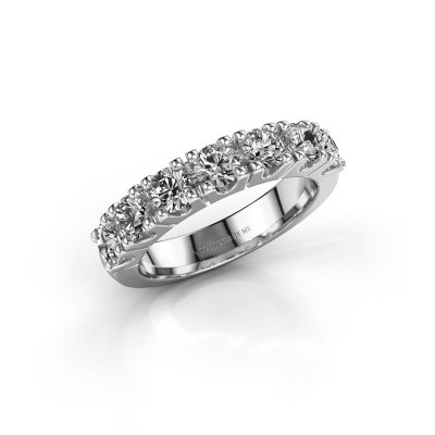 Photo de Bague de fiançailles Rianne 7 585 or blanc diamant 1.40 crt