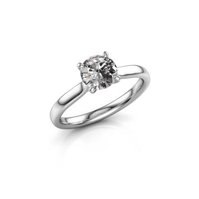 Bild von Verlobungsring Mignon rnd 1 950 Platin Diamant 1.00 crt