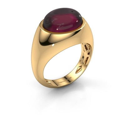 Picture of Ring Laurien 585 gold rhodolite 12x10 mm