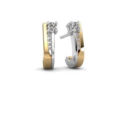 Bild von Ohrringe Jewell 585 Gold Diamant 0.218 crt