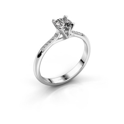 Foto van Aanzoeksring Isa 2 585 witgoud diamant 0.40 crt