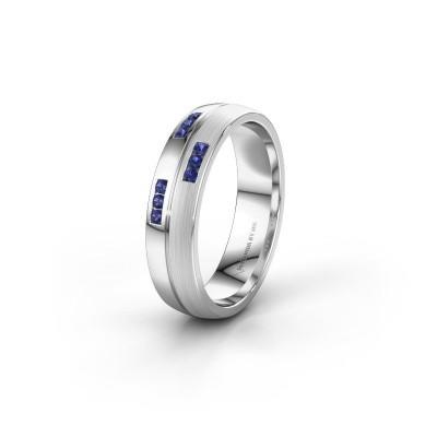 Ehering WH0206L25APM 925 Silber Saphir ±5x1.7 mm