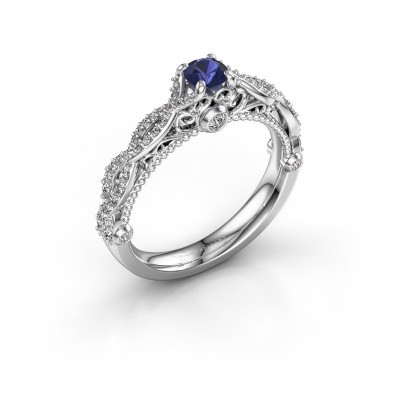 Picture of Engagement ring Chantelle 585 white gold sapphire 4 mm