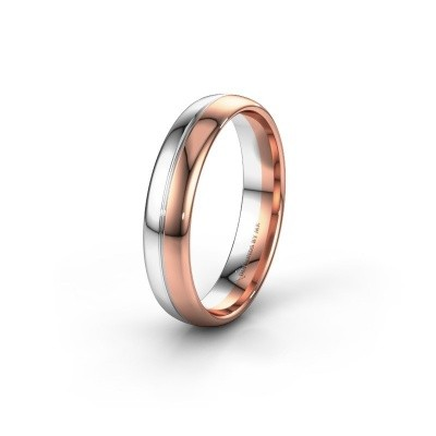 Wedding ring WH0221M35X 585 rose gold ±0.20x0.06 in