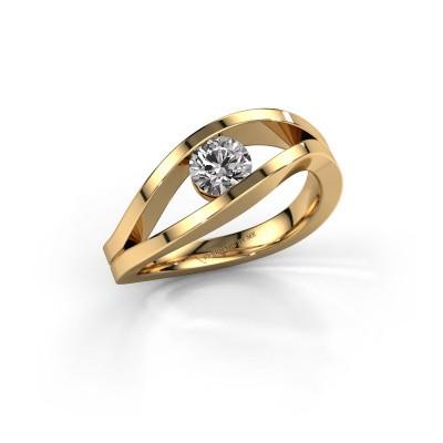 Bild von Verlobungsring Sigrid 1 585 Gold Diamant 0.50 crt