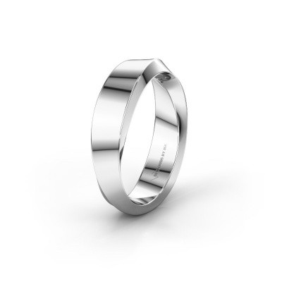 Wedding ring WH2232M15E 375 white gold ±0.20x0.1in