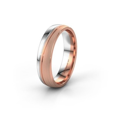 Wedding ring WH0909M25X 585 rose gold ±0.20x0.06 in