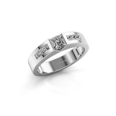 Foto van Verlovings ring Arlena 2 585 witgoud zirkonia 4 mm