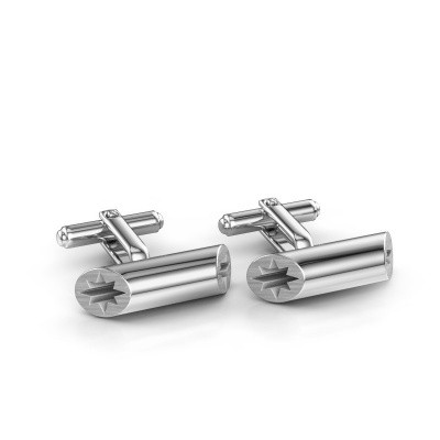 Picture of Cufflinks Ruud B 585 white gold