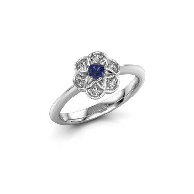 Engagement ring Uma 925 silver sapphire 3 mm