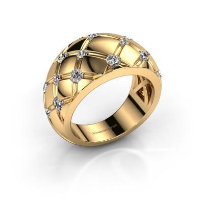 Ring Imke 375 Gold Diamant 0.78 crt