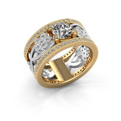 Ring Severine 585 goud diamant 1.405 crt
