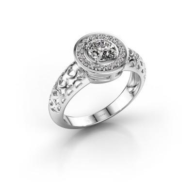 Foto van Ring Katalina 950 platina diamant 0.62 crt