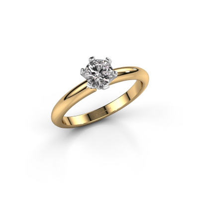 Picture of Engagement ring Tiffy 1 585 gold diamond 0.50 crt