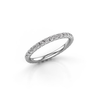 Picture of Stackable ring Jackie 1.7 585 white gold diamond 0.66 crt