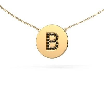 Letter hanger Initial 050 375 goud