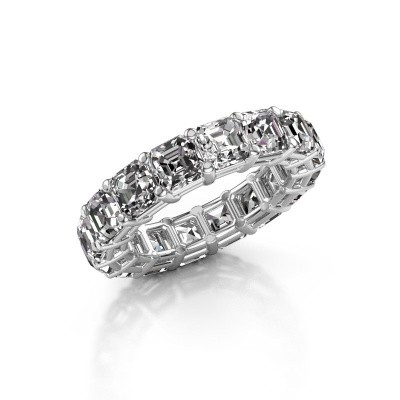 Foto van Ring Heddy ASH 4.5 585 witgoud diamant 8.00 crt