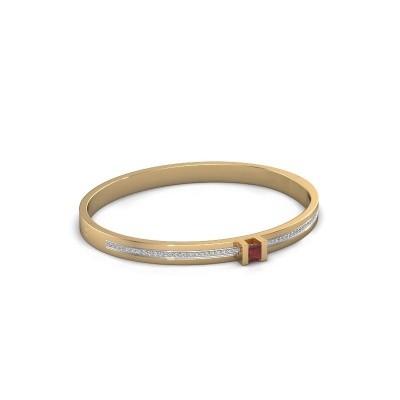 Foto van Armband Desire 585 goud robijn 4 mm