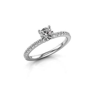 Foto van Verlovingsring Crystal rnd 2 585 witgoud lab-grown diamant 0.680 crt