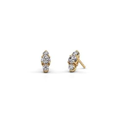 Bild von Ohrringe Amie 375 Gold Diamant 1.20 crt