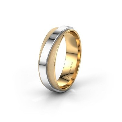 Wedding ring WH2126M 585 gold ±6x1.7 mm