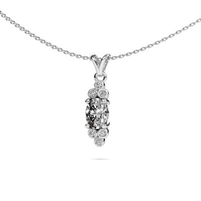 Picture of Pendant Lucy 2 585 white gold diamond 0.89 crt