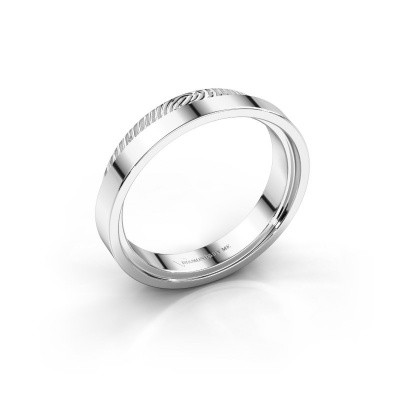 Picture of Wedding ring Jari 585 white gold ±0.20x0.08 in