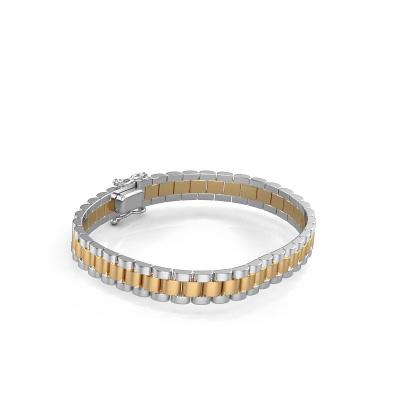 Picture of Rolex style bracelet Erik 8 mm 585 gold